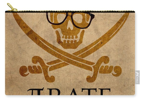 Pirate Math Nerd Humor Poster Art Carry-all Pouch