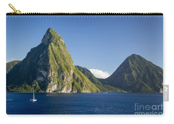 Pitons - St Lucia Carry-all Pouch
