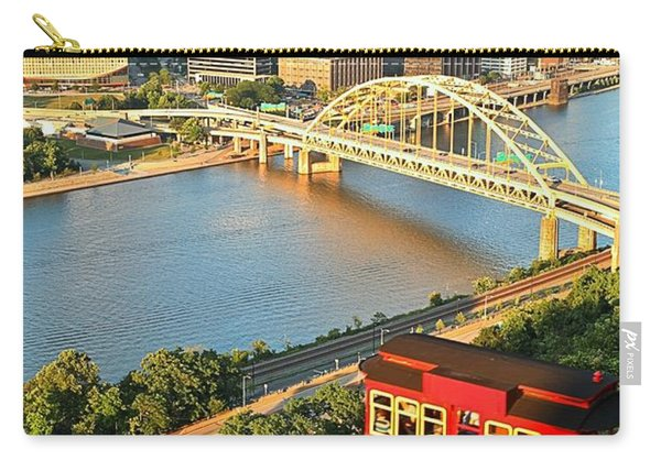 Pittsburgh Duquesne Incline Carry-all Pouch