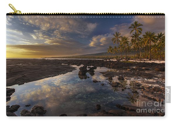 Place Of Refuge Sunset Reflection Carry-all Pouch