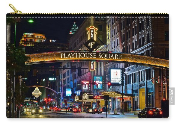Playhouse Square Carry-all Pouch