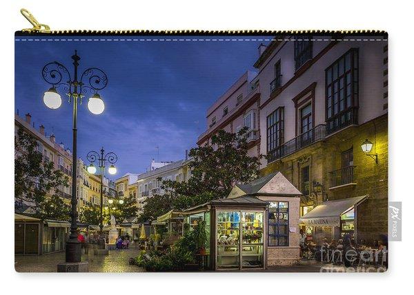 Plaza De Las Flores Cadiz Spain Carry-all Pouch