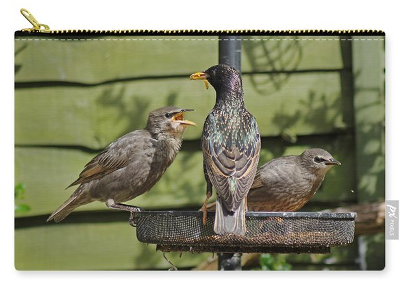 Please Feed Me. Carry-all Pouch