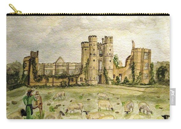 Plein Air Painting At Cowdray House Sussex Carry-all Pouch