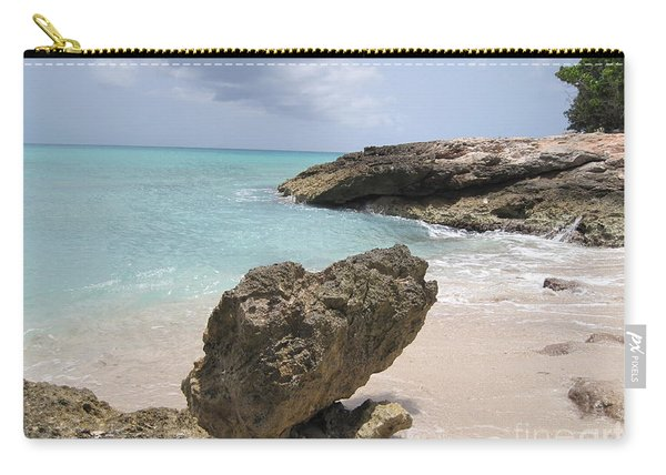 Plum Bay - St. Martin Carry-all Pouch