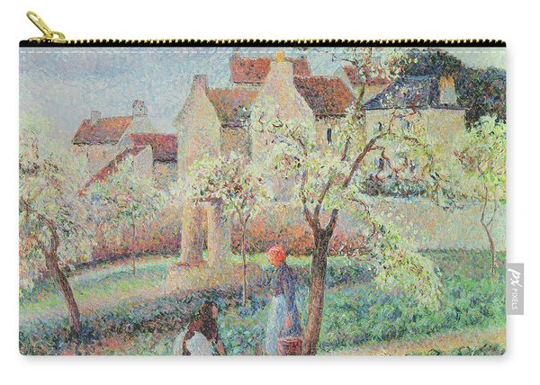 Plum Trees In Flower Carry-all Pouch