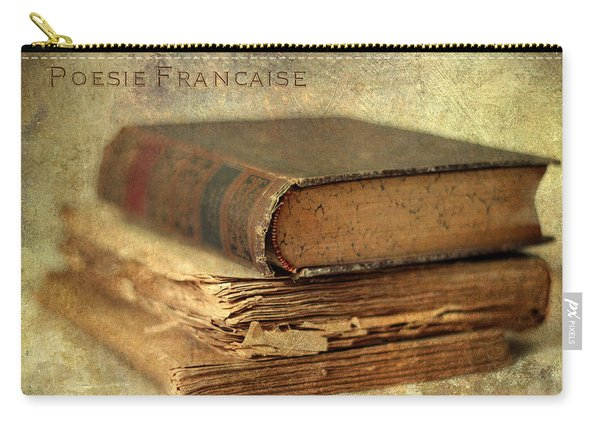 Poesie Francaise Carry-all Pouch