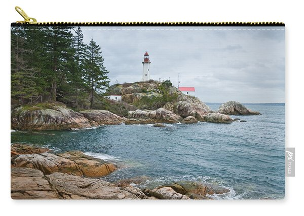 Point Atkinson Lighthouse And Rocky Shore Carry-all Pouch