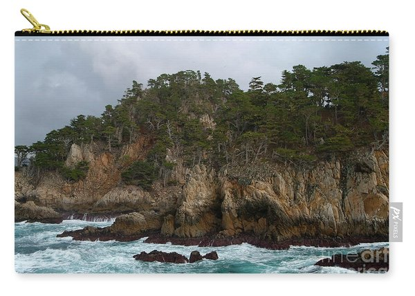 Point Lobos Coastal View Carry-all Pouch