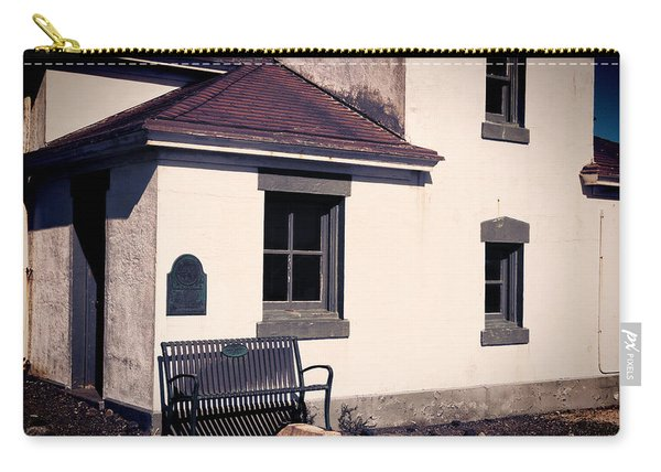 Point Wilson Lighthouse Bench Carry-all Pouch