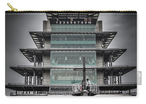 Pole Day At The Indy 500 Carry-all Pouch
