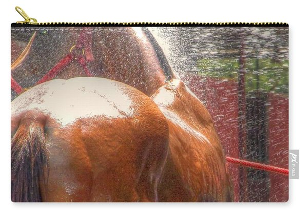 Polo Pony Shower Hdr 21061 Carry-all Pouch