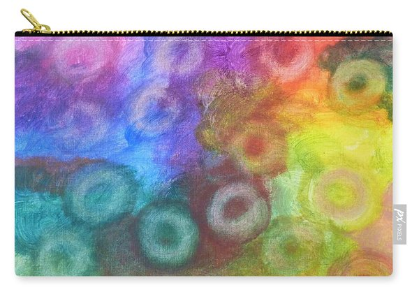 Polychromatic Rbc's Carry-all Pouch