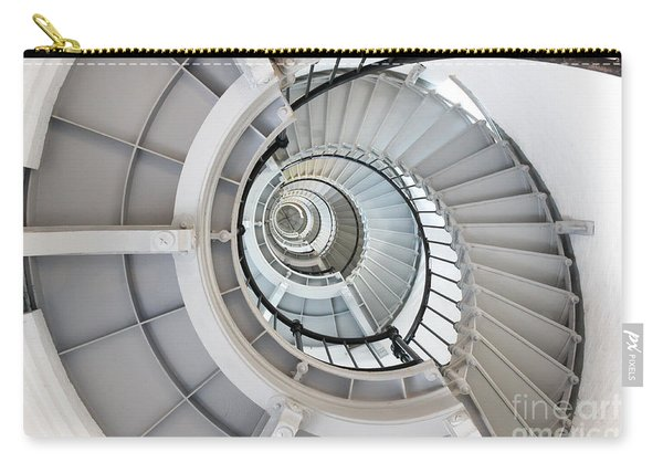 Ponce De Leon Inlet Lighthouse Staircase Carry-all Pouch