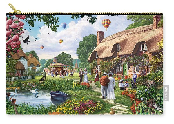 Pond Cottage Carry-all Pouch
