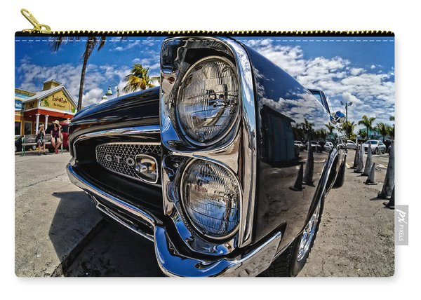 Pontiac Gto Convertible Ft Myers Beach Florida Carry-all Pouch