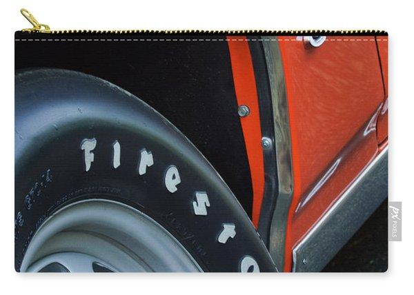 1969 Pontiac Gto Judge Coupe Tire Emblem Carry-all Pouch