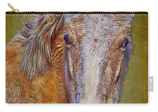 Pony Portrait  Carry-all Pouch