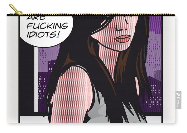 Pop Art Porn Stars - Caprice Carry-all Pouch