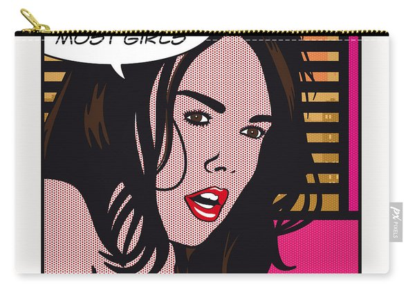 Pop Art Porn Stars - Dillion Harper Carry-all Pouch