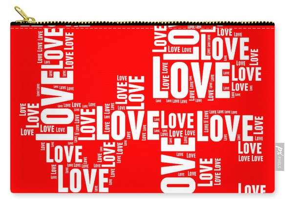 Pop Love 6 Carry-all Pouch