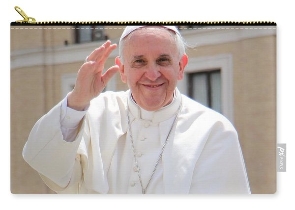Pope Francis Carry-all Pouch