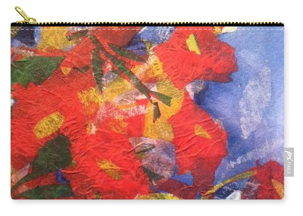 Poppies Gone Wild Carry-all Pouch