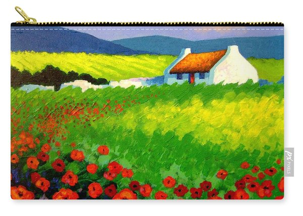 Poppy Field - Ireland Carry-all Pouch