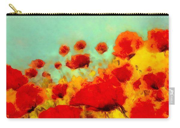 Poppy Time Carry-all Pouch