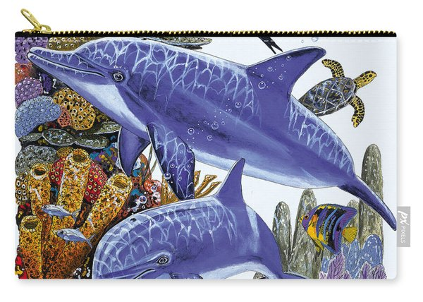Porpoise Reef Carry-all Pouch