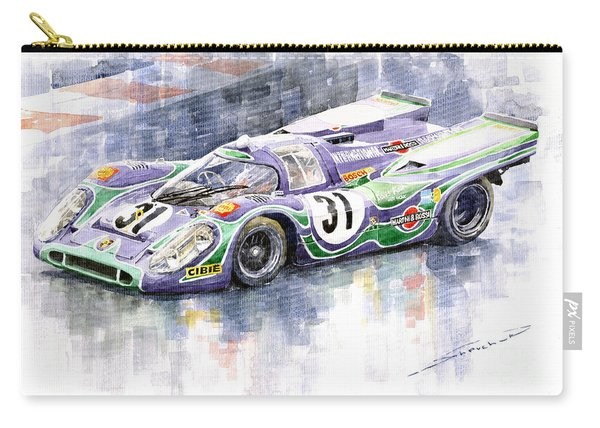 Porsche 917 K Martini Racing 1970 Carry-all Pouch