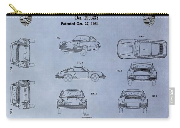 Porsche Patent Carry-all Pouch