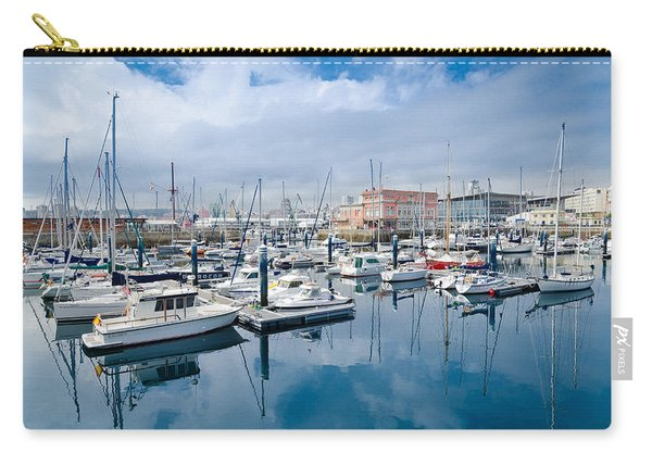 Port Of Coruna Carry-all Pouch