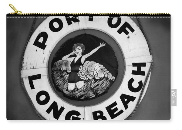 Port Of Long Beach Life Saver By Denise Dube Carry-all Pouch