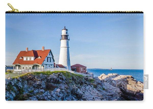Portland Head Light House Cape Elizabeth Maine Carry-all Pouch