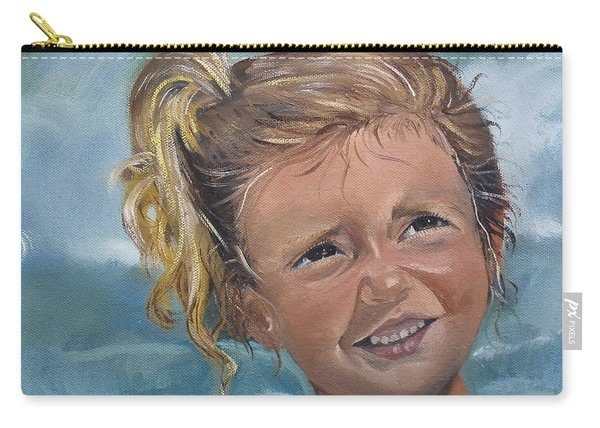Portrait - Emma - Beach Carry-all Pouch