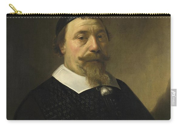 Portrait Of A Bearded Man Carry-all Pouch