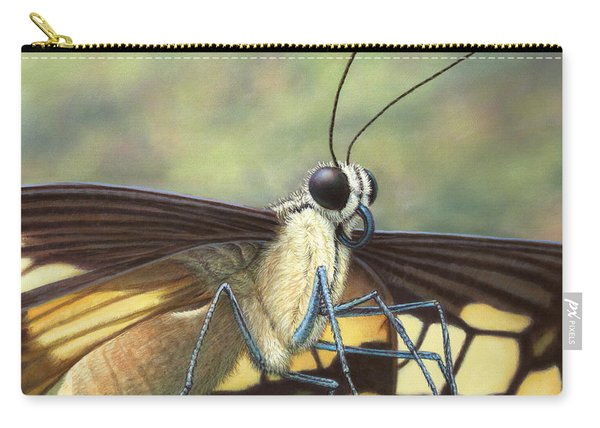 Portrait Of A Butterfly Carry-all Pouch