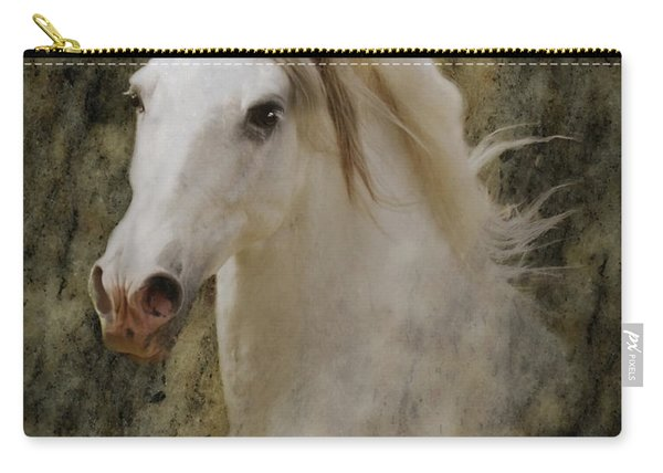 Portrait Of A Horse God Carry-all Pouch