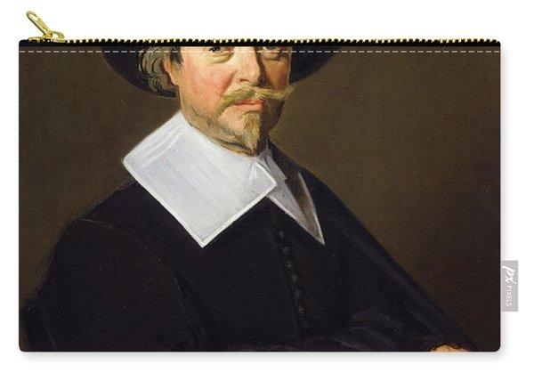 Portrait Of A Man, C.1643-45 Carry-all Pouch