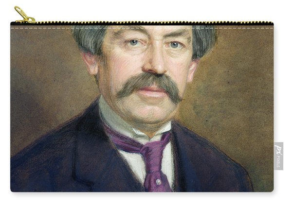 Portrait Of Aristide Briand 1862-1932 1916 Pastel On Paper Carry-all Pouch