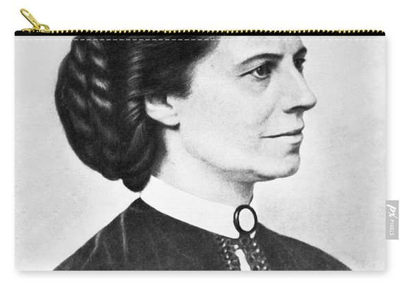 Portrait Of Clara Barton Carry-all Pouch