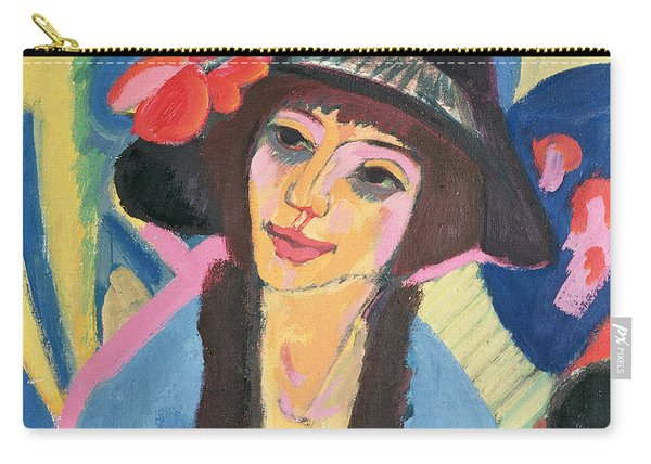 Portrait Of Gerda Carry-all Pouch