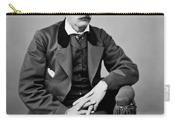 Portrait Of Kit Carson Carry-all Pouch