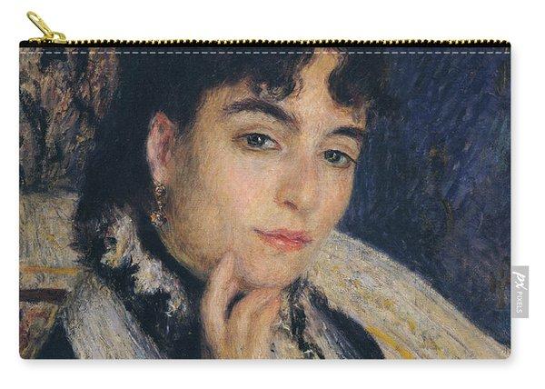 Portrait Of Madame Alphonse Daudet,1876  Carry-all Pouch