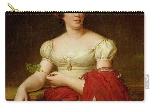 Portrait Of Madame De Stael Carry-all Pouch
