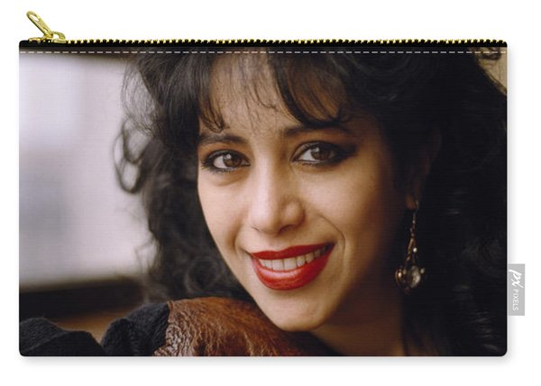 Portrait Of Ofra Haza Carry-all Pouch