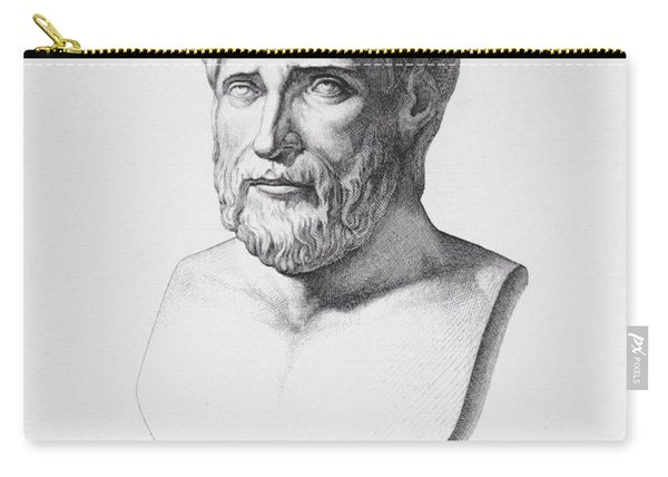 Portrait Of Pythagoras Carry-all Pouch