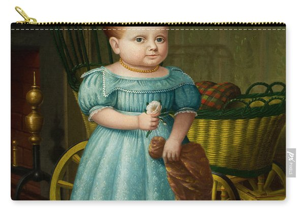 Portrait Of Sally Puffer Sanderson Carry-all Pouch