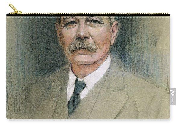 Portrait Of Sir Arthur Conan Doyle  Carry-all Pouch